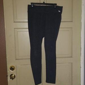 3 Pairs Victoria's Secret Pink Leggings EUC Size L